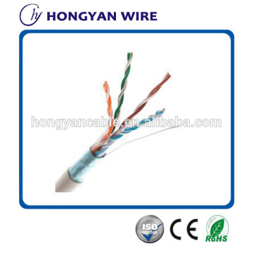 Factory directly sale for FTP Cat 5e Network Cable 4Pairs Indoor/Outdoor Ftp Cat5e Cable Lan Cable export to Anguilla Factory