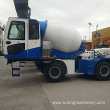 Fully automatic cement concrete mixing tank truck