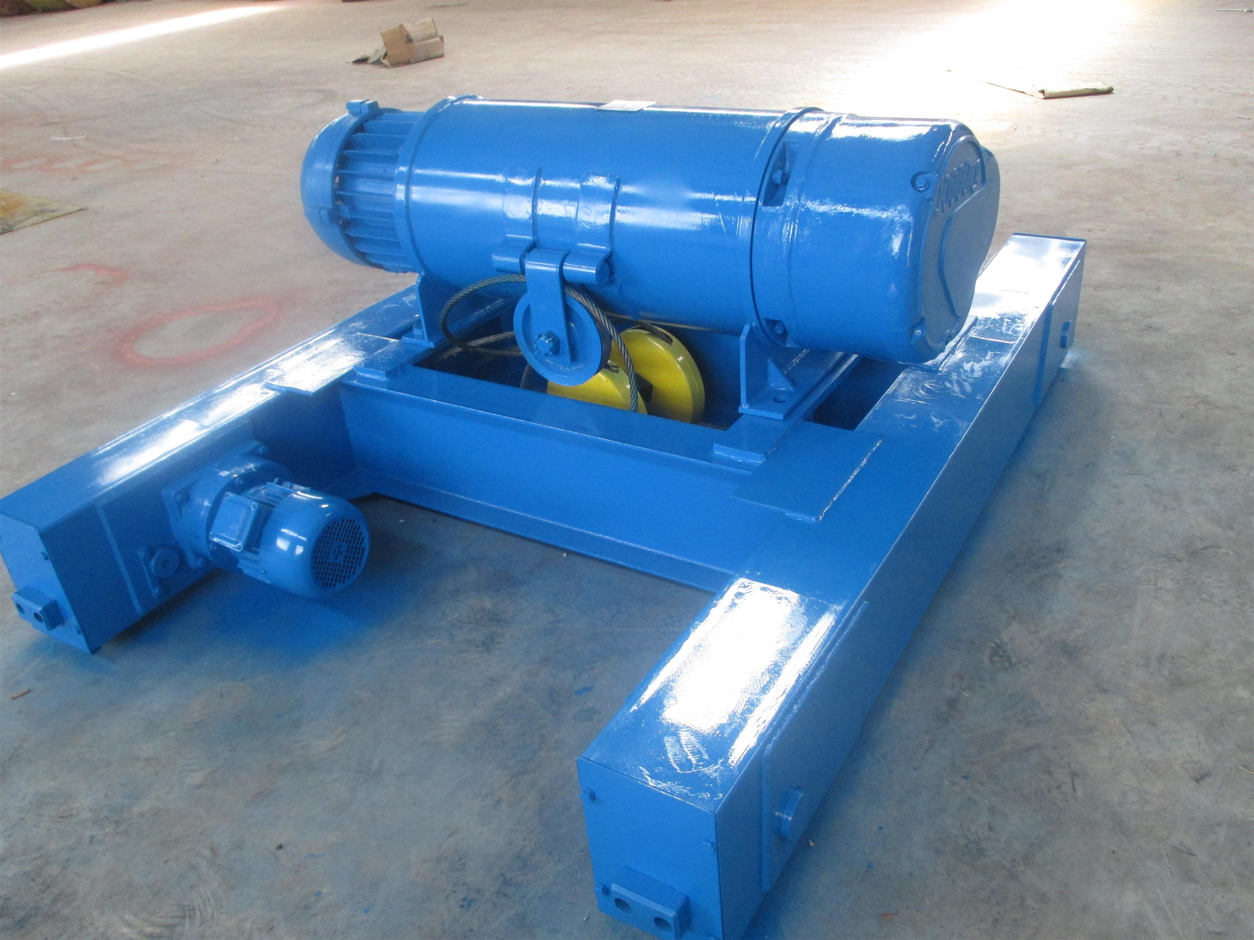 Double girder hoist trolley overhead crane