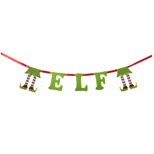 professional factory for for Christmas Wreath Christmas 3D magic elf bunting banner supply to Japan Manufacturers