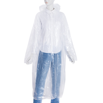 Cheap disposable raincoat with sleeve