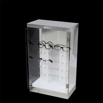 acrylic or plexiglass sunglasses display rack