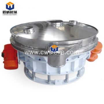 High efficiency rotary vibrating screening for powder