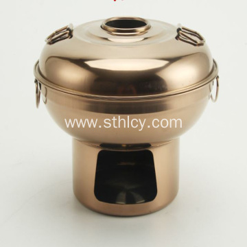 Stainless Steel Pot Charcoal Hotpot Thai Style