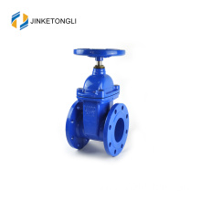 "JKTLCG019 wheel handle cast steel 6"" flanged gate valve"