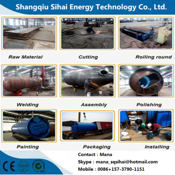 Refine Waste PP Plastic To Oil Equipment