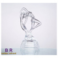 Crystal Glass Dancer for Car Decoration