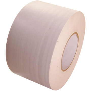 Cloth white brown adhesive vinyl duct tape