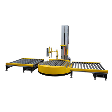 Autoamtic pallet roller packing line wrapping machine
