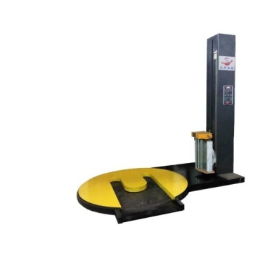 Auto M turntable stretch wrapping machine