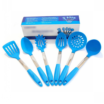 Kitchen accessories silicone cooking utensil set