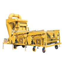 factory customized for Combine Small Seed Cleaner HLD 5XFZ-15S winnower seed cleaner with gravity separator supply to Netherlands Wholesale