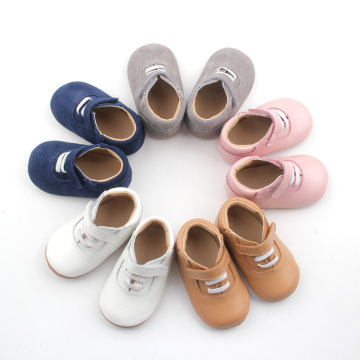 Unisex Hard-wearing Baby Soft Leather Toddler Shoe