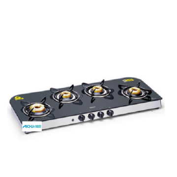 Glen LPG Glass Gas Stove With Auto Ignition