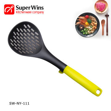 Food Grade Nylon Kitchen Utensils Strainer Skimmer Spoon