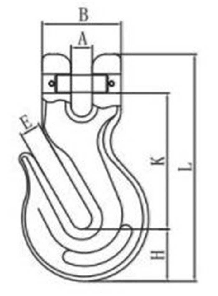 Clevis Wing Grab Hook