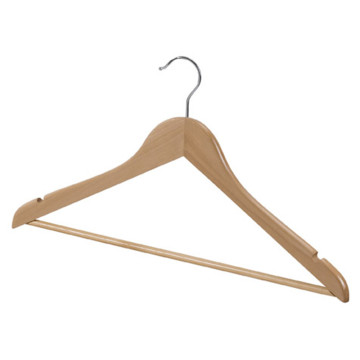 wooden clothes hanger basic hanger 44.5cm natural