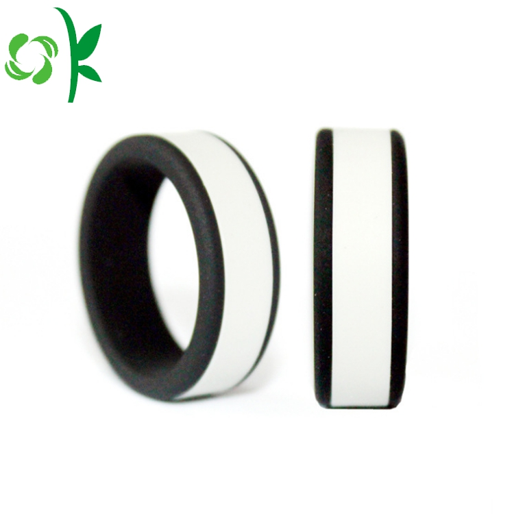 White Silicone Ring