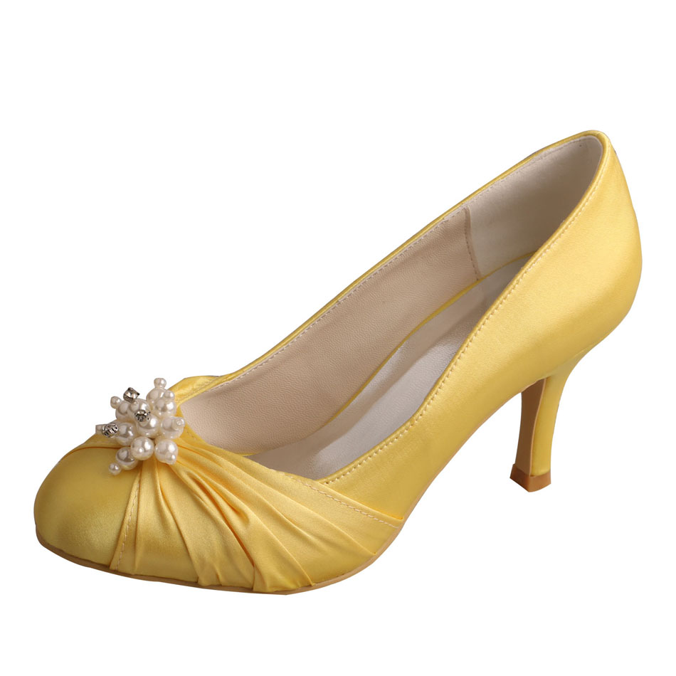 Bridesmaid Shoes Gold