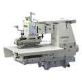 25-needle Flat-bed Double Chain Stitch Sewing Machine