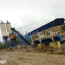 China New Product for Small Concrete Batch Plant 60 Fixed Concrete Mix Machinery supply to Nicaragua Factory