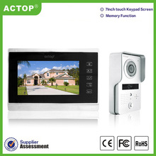 Wire Color TFT video door phones