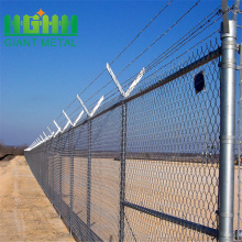 Used electro galvanized chain link fence