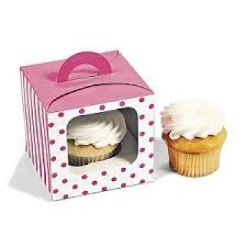 Folding Paper Boxes Cake Paper Cups Window Bags