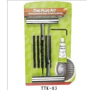 chromed metal handle Tire Repair Tool Kit