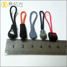 Leading for Metal Zipper Slider Various styles of silicone rubber zipper pull export to South Korea Supplier