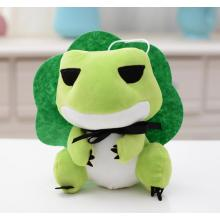 Travel Frog Shaped Plush Toy