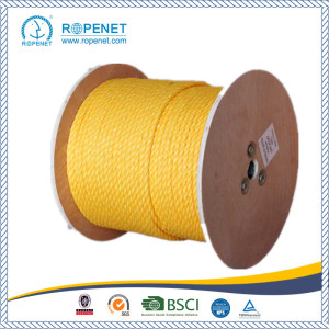 Hot-selling for PP Split Film Twist Rope UV Protection PP Rope 3 Strands Twisted Rope export to Guatemala Factory
