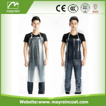 Transparent PVC Adult Apron Smock
