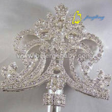 Silver double side scepter SC-11