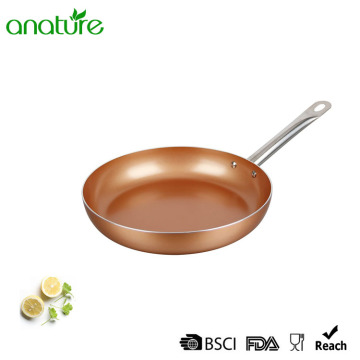 Copper Titanium Ceramic Coating Induction Bottom Fry Pan