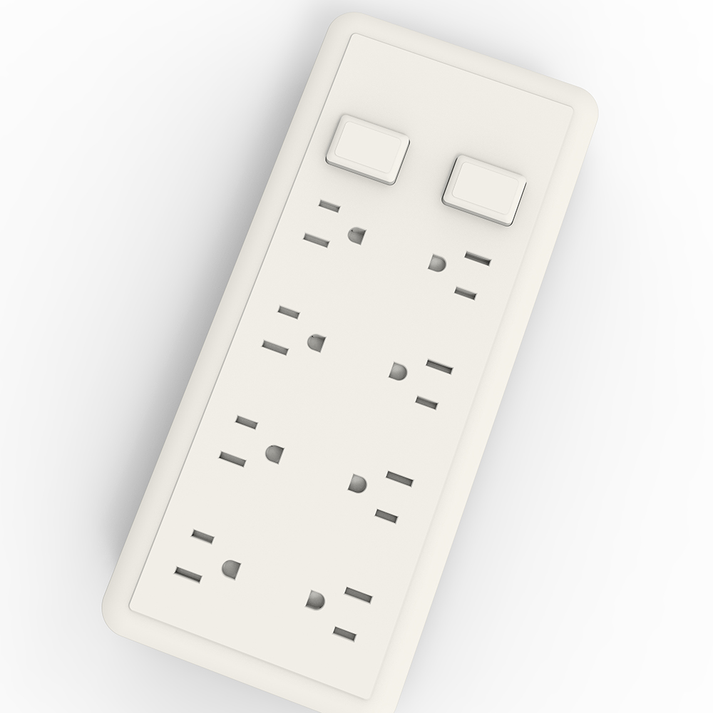 Overload Protected Power strip Extension Socket