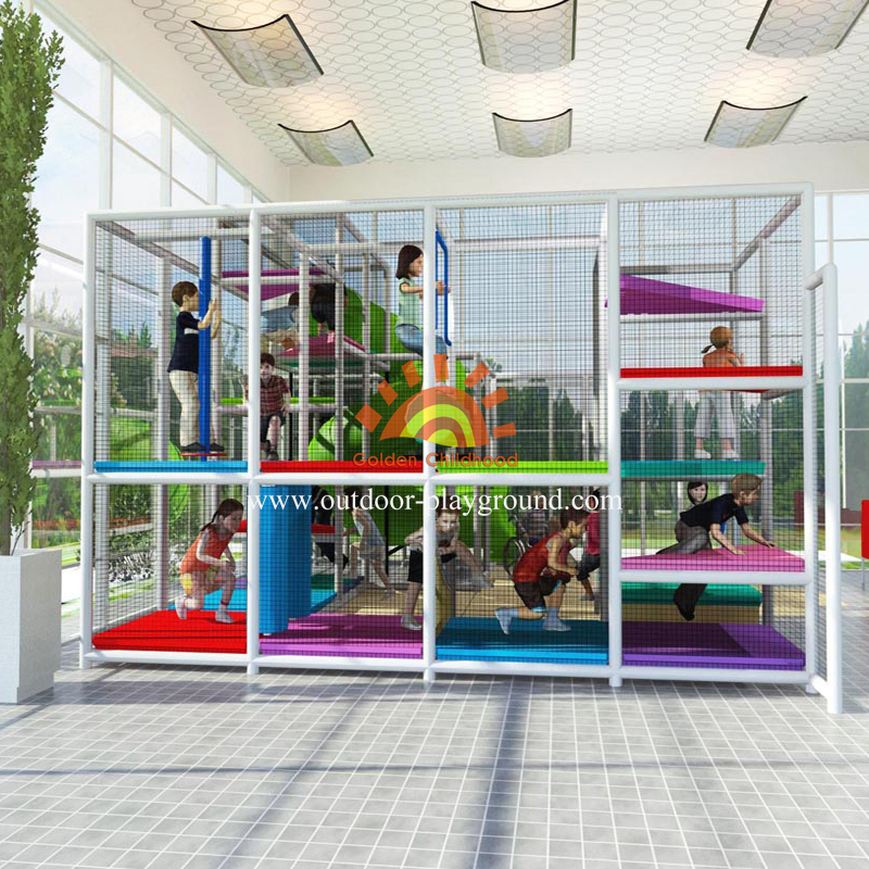 Indoor Soft Play Structure For Toddler
