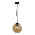 American style edison bulb glass pendant round lamp