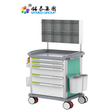 Hospital medical anesthesia cart