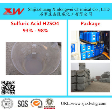 Electronic Grade H2SO4 Sulfuric Acid 93 96 98