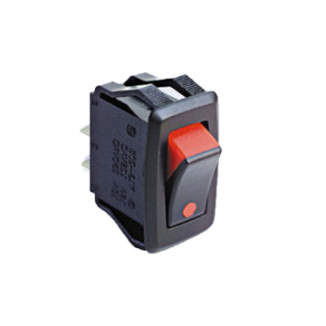 IP55 Waterproof& Dustproof Power Rocker Switch