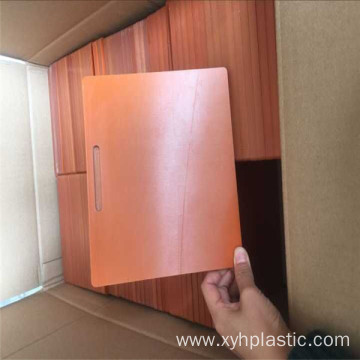 Electrical Insulaiton Excellent Quality Orange/Black Board