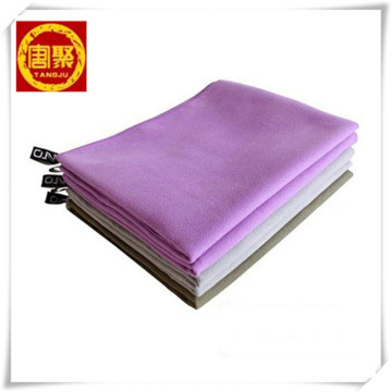 Quick Dry Beach Debossed Microfiber Suede Towel