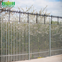 Factory Free sample for Palisade steel fence Factory Steel Decorative Palisade Fence export to United Kingdom Manufacturer