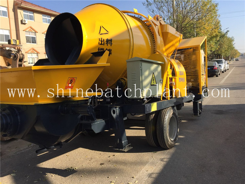 Popular Concrete Pump with Mixer