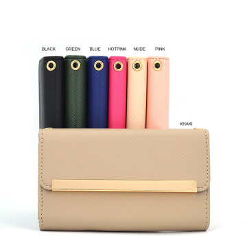 Colorful MIrror Stand Wallet Filp Leather Phone Case