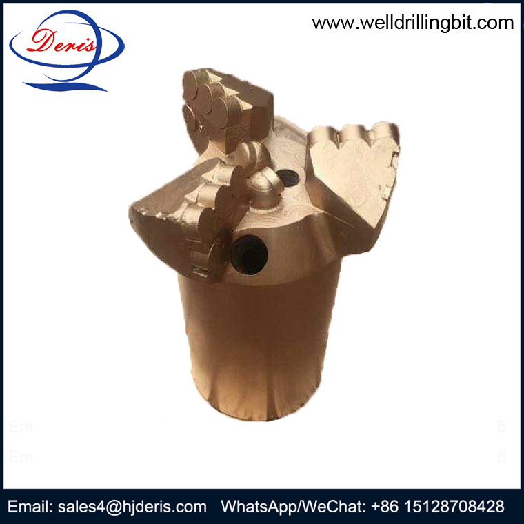 3 Wings Concave PDC Drill Bit