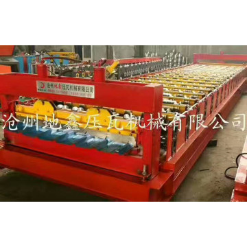 India trapezoidal roofing sheet roll forming machine