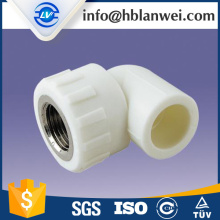PPR PIPE fittings ELBOW TEE FEMALE adapter