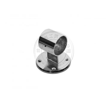 50mm chrome tube connector